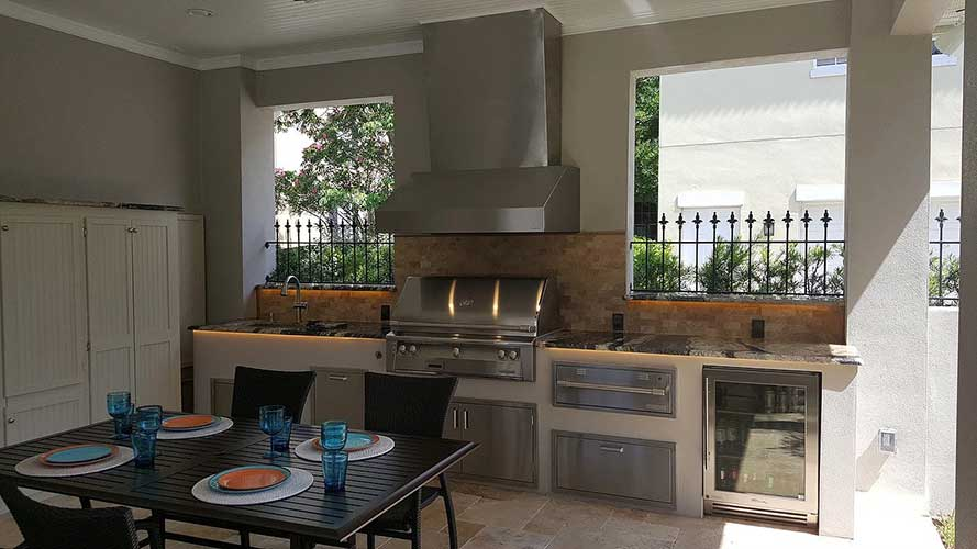 Outdoor Kitchen Design Central Florida Types Of Kitchens
