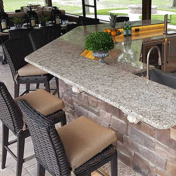 Outdoor Kitchen Central Florida Patio Style